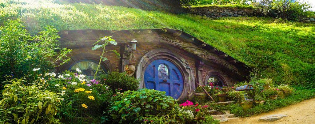 Slovak Hobbit town vLiptovskej Tepličke