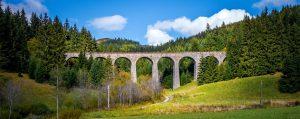 Chmarošský viadukt, Telgárt, Slovensko